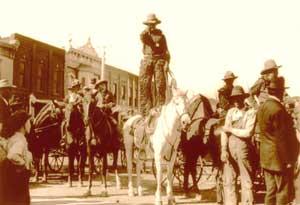 Newton, Kansas Cowboy