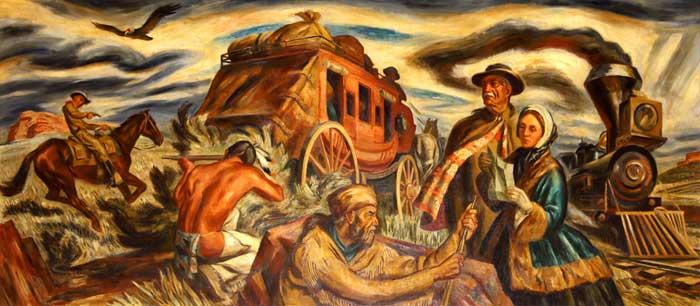 Pioneers in Kansas