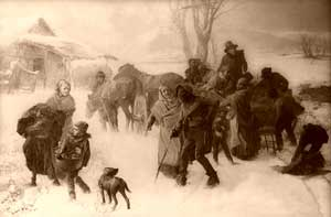 Underground Railroad by Charles T. Webber, 1893.