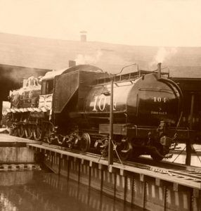 Union Pacific Railroad Engine by H.C. White, 1905