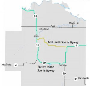 Wabaunsee County Scenic Byways