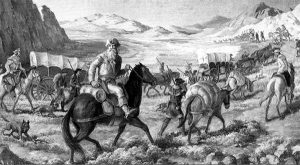 William Becknell on the Santa Fe Trail.