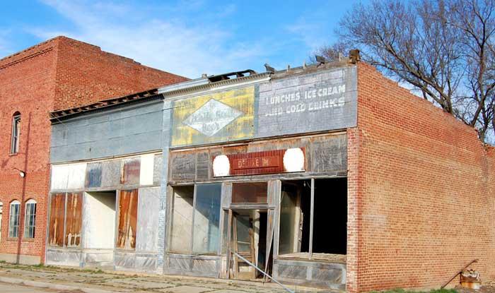 Barnard Kansas - Main Street