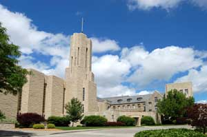 St. Benedicts Abbey in Atchison, Kansas by Kathy Alexander.
