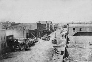 Atchison, Kansas about 1860