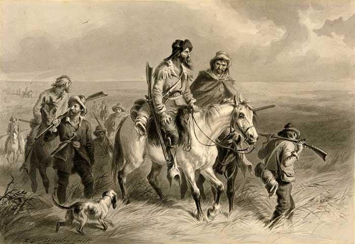 Border Ruffians in Kansas by F.O.C. Darley