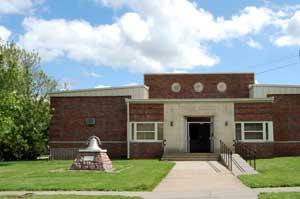 Grade School in Effingham, Kansas by Kathy Weiser-Alexander.