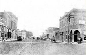 Early day Effingham, Kansas.
