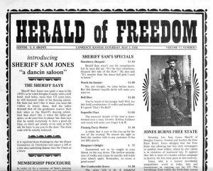 Herald of Freedom newspaper.