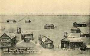 Osage Catholic Mission, 1865