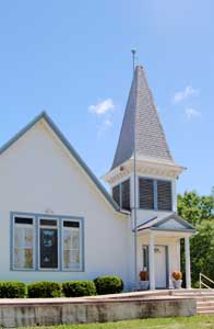 The Potter, Kansas church still serves parishioners today by Kathy Weiser-Alexander.