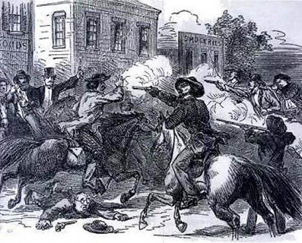 The Sacking of Lawrence, Kansas, May, 1856.