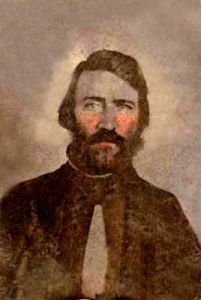 Samuel J. Jones, pro-slavery sheriff of Douglas County, Kansas.