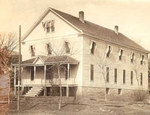The Arrington, Kansas Hotel built in 1902 was razed in 1953.