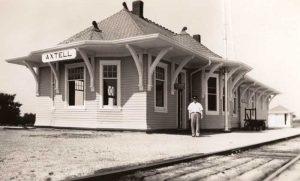 Axtell, Kansas Depot