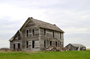 """Ghost House"" near Axtell, Kansas by Kathy Weiser-Alexander."