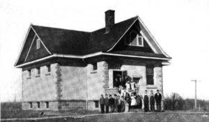 Deer Creek School at Beattie, Kansas.
