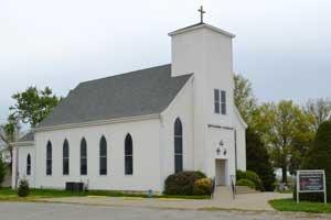 Bethlehem Lutheran Church near Breman, Kansas by Kathy Weiser-Alexander.