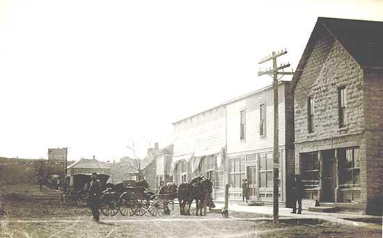 Vintage Bigalow, Kansas.