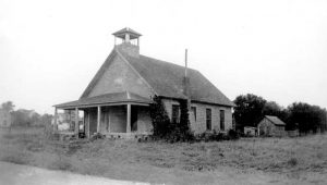 Bigelow Christian Church in about 1925.
