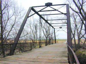 Black Vermillion River Bridge near Frankfort, Kansas courtesy Bridgehunter