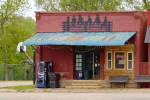 Bremen, Kansas Bar by Kathy Weiser-Alexander.