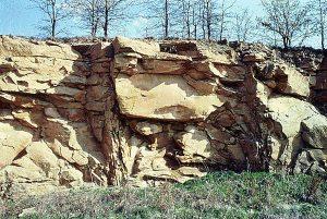 Chautauqua Hills, Chautauqua County, by the Kansas Geoloical Survey