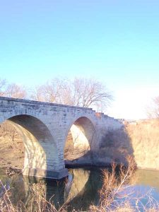 Clements Stone Arch Bridge on the Cottonwood River, courtesy Wikipedia