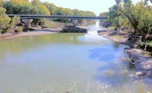 Cottonwood River at Emporia, Kansas