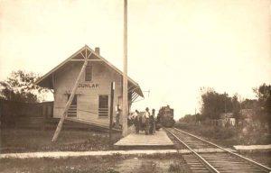 KATY Depot in Dunlap, Kansas.