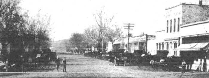 Dunlap, Kansas 1915
