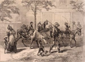 Exodusters En Route to Kansas, Harper's Weekly 1879