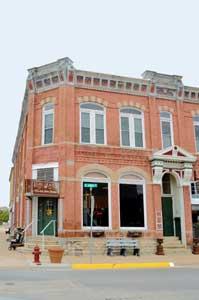 A beautiful building in Frankfort, Kansas by Kathy Weiser-Alexander.