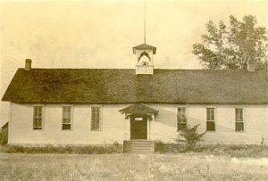 Vintage Herkimer, Kansas School