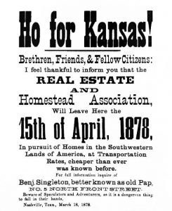 Ho for Kansas