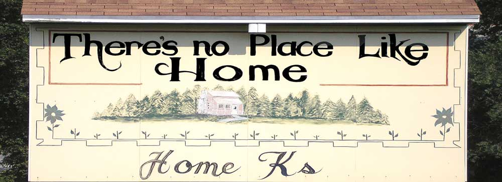 Welcome to Home, Kansas by Kathy Weiser-Alexander.