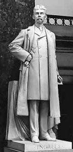 Senator John J. Ingalls Statue in Washington D.C.