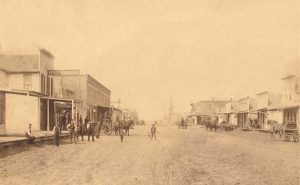 Lindsborg, Kansas about 1895