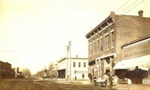 Main Street, Lindsborg, Kansas 1920.