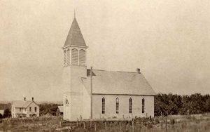 United Evangelical Church in Marietta, Kansas, about 1915