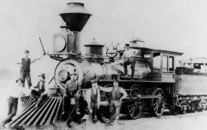 Missouri Pacifi Railroad Locomotive