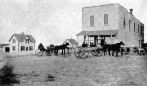 Z.H. Store and residence in Oketo, Kansas.