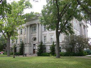 Old Saline County Courthouse
