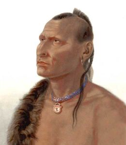 Otoe Indian Man
