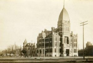 Reno County Courthouse, 1902.