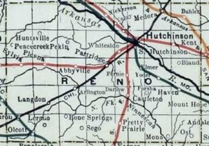 Old Reno County Map