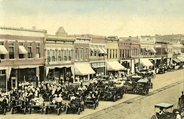 Salina, Santa Fe Avenue 1910