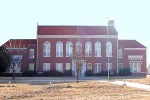 Old Sylvia, Kansas High School by Kathy Weiser-Alexander.