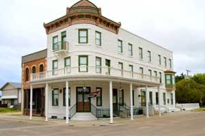 Waterville, Kansas Weaver Hotel by Kathy Weiser-Alexander.