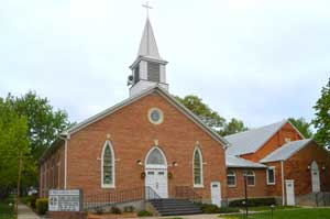 Lutheran Church in Waterville, Kansas by Kathy Weiser-Alexander.
